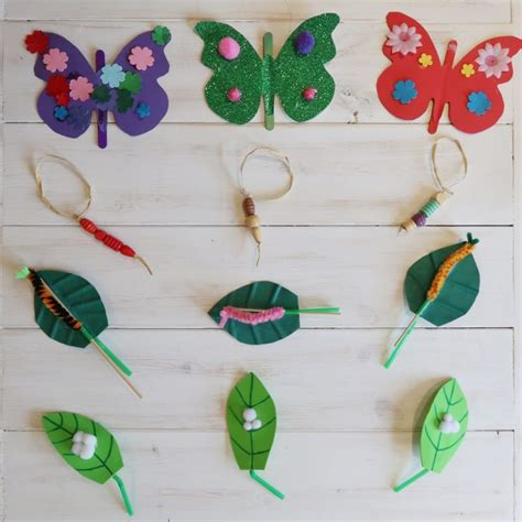 life cycle   butterfly craft tree someones mum