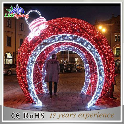 china holiday light led christmas ball light large outdoor