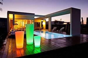 Eclairage Exterieur Piscine : eclairage piscine ou l 39 art de joindre l 39 utile et l 39 agr able ~ Premium-room.com Idées de Décoration