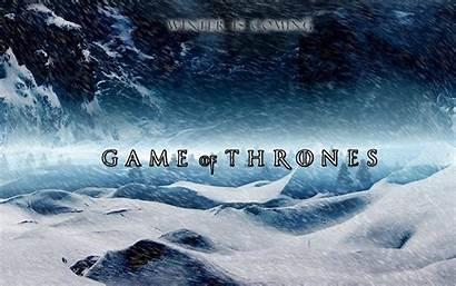 Thrones Winter Coming Series Wallpapers Tv Stark