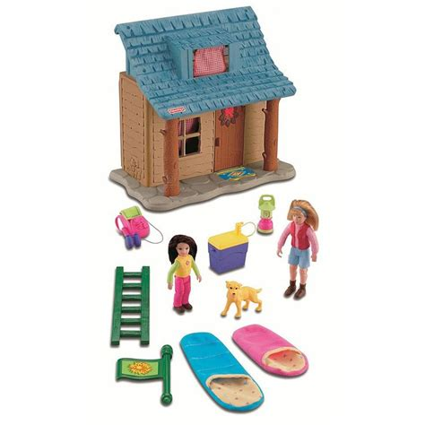cabin fisher fisher price loving family cing cabin