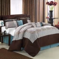 blue and brown bed sets home designer