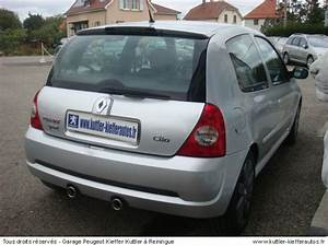 Voiture Occasion Renault : renault clio 2 rs 182 cv 2005 occasion auto renault clio 2 ~ Medecine-chirurgie-esthetiques.com Avis de Voitures