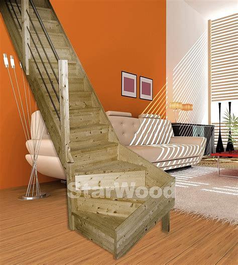 raumspartreppe 1 4 gewendelt starwood raumspartreppe 187 korfu 171 geschl stufen 1 4 links gewendelt holz edelstahlgel li