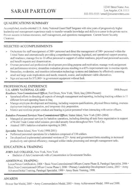 Sle Combination Resume by Chrono Functional Combination Resume Format Resume