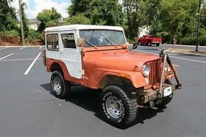 1975 Jeep Cj5 2 Dr Hard Top 4x4 4x4 72067 Miles Dark Red