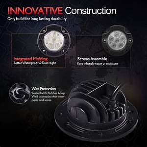 Cheap Auto Parts Online Round Led Light Pods 18w