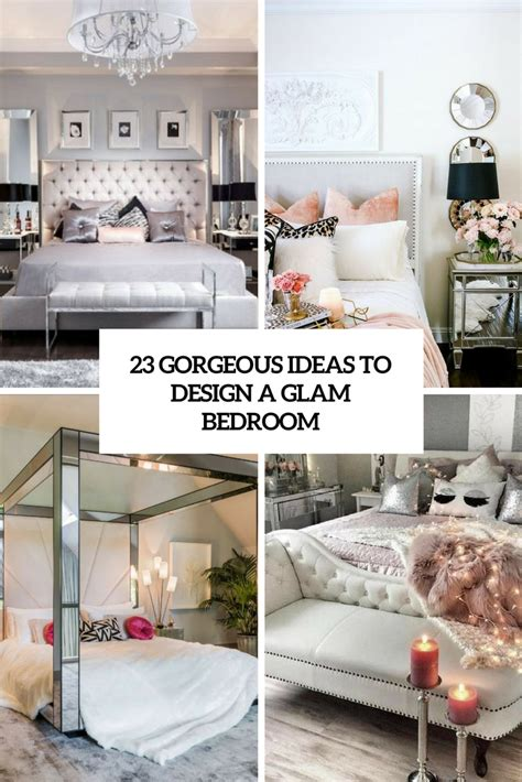 gorgeous ideas  design  glam bedroom digsdigs