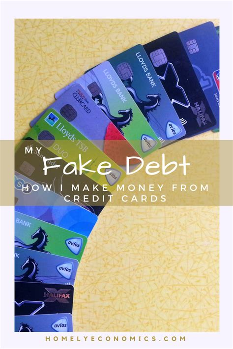 Updated thu, oct 15 2020. My Fake Debt: How I Make Money From Credit Cards • Homely Economics