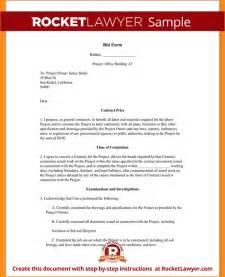 Sample Bid Proposal Business Proposal Templated