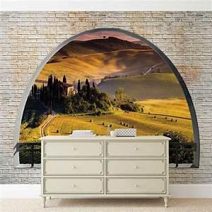 Poster Mural Nature : landscape nature arch view wall paper mural buy at europosters ~ Teatrodelosmanantiales.com Idées de Décoration