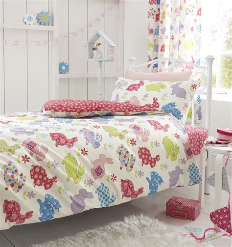 rabbit bedding bunny rabbit bed linen catherine lansfield polka dot