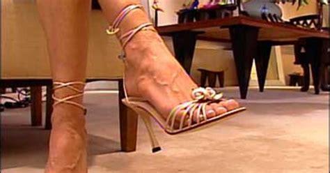 high heels  heavy toll  feet cbs news