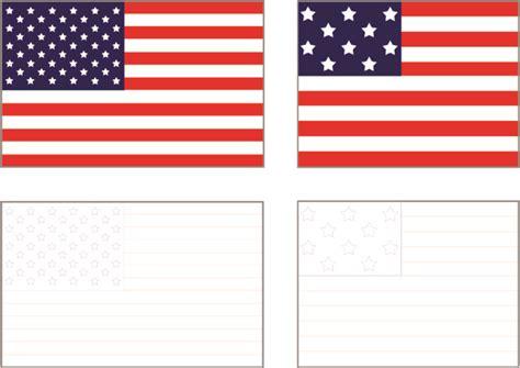 american flag printable   clip art