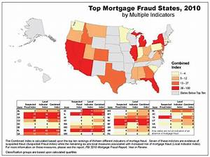 The Top Mortgage Fraud States