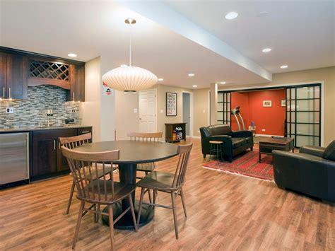 managing  basement remodel hgtv