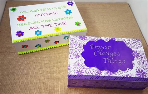 christian craft ideas diy prayer box christian craft for s s 3552