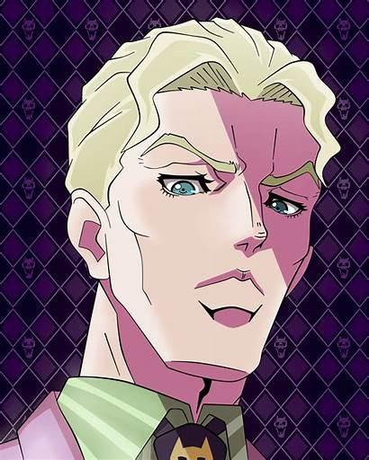 Kira Yoshikage Fanart Anime Artstyle Season Redd