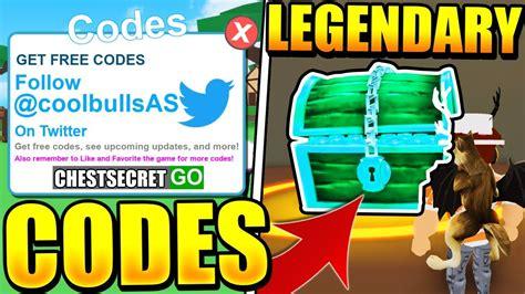legendary treasure chest codes  pet ranch simulator