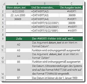 Datumsdifferenz Berechnen : korrigieren eines wert fehlers in der datwert funktion office support ~ Themetempest.com Abrechnung
