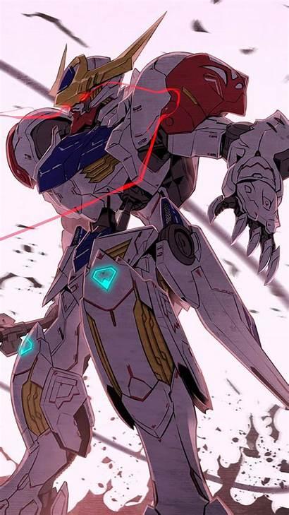 Gundam Iron Orphans Blooded Lupus Barbatos Mobile