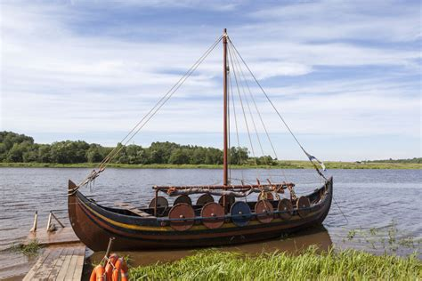 Viking Boats Used by How To Build A Viking Boat Ebay