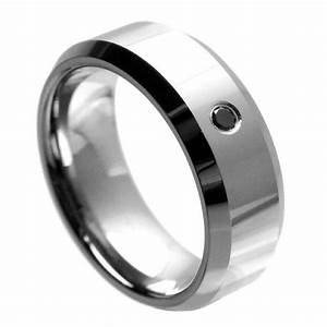 mens wedding rings black diamonds rustic navokalcom With mens black diamond wedding ring
