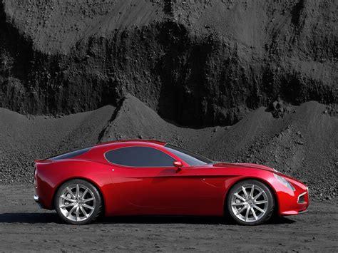 Red 8c Competizione Alfa Romeo 2015