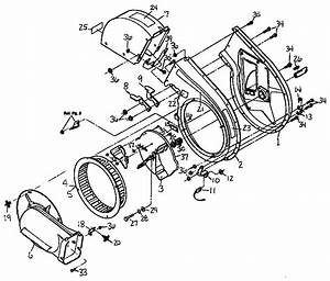 Shredder Assembly Diagram  U0026 Parts List For Model 47282