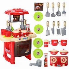 Deluxe Children Kids Kitchen Cooking Pretend Play Toy Set