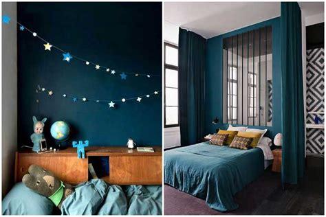 d o chambre bleu canard osez une déco couleur bleu canard dans votre intérieur