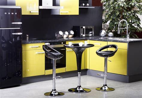 cuisine jaune et gris cuisine jaune et gris pas cher sur cuisine lareduc com
