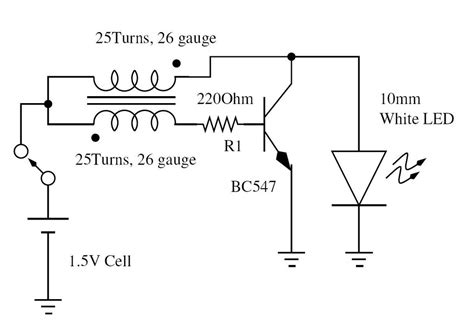 Circuit Diagram Led Torch by Led Circuit Page 5 Light Laser Led Circuits Next Gr