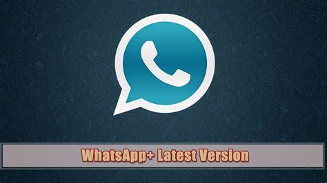 whatsapp plus apk version 2018 v6 75