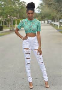 Skinny Black Girl Women