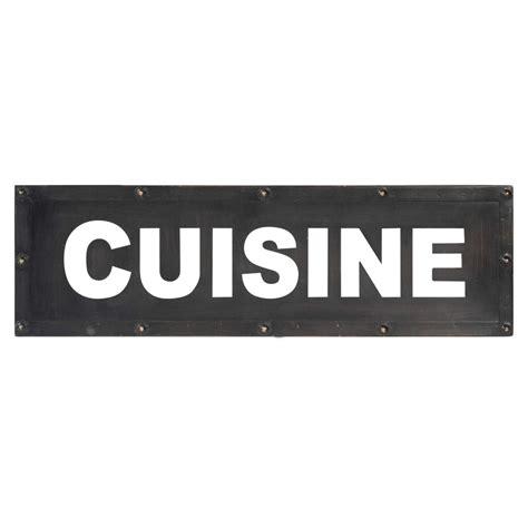 plaques cuisine plaque murale en métal 14 x 47 cm cuisine cutting