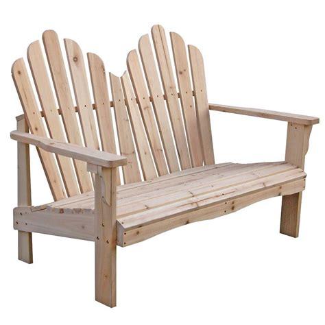 brand  yellow cedar wood outdoor patio  seat