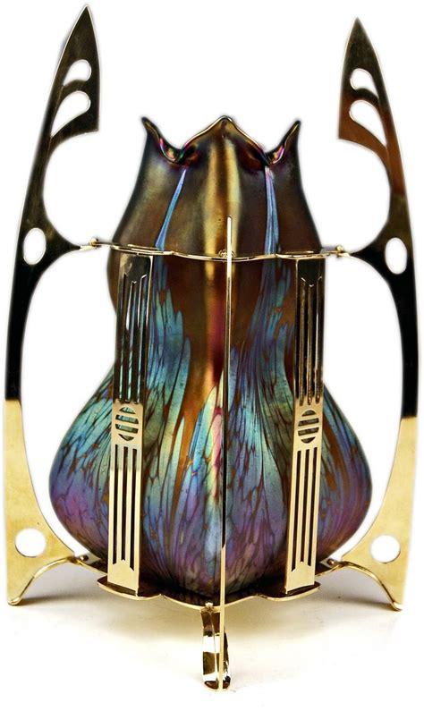 vase loetz widow klostermuehle bohemia art nouveau decor