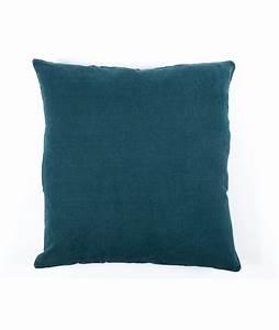 housse de coussin xxl en lin propriano 80 x 80cm 18 With tapis de gym avec housse grand coussin canapé