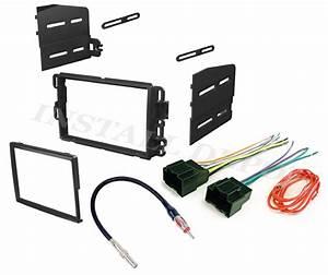 Car Stereo Double 2 Din Radio Dash Installation Bezel Trim