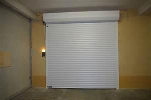 portes de garages battantes sectionnelles laterales With porte de garage enroulable de plus porte accordeon interieur