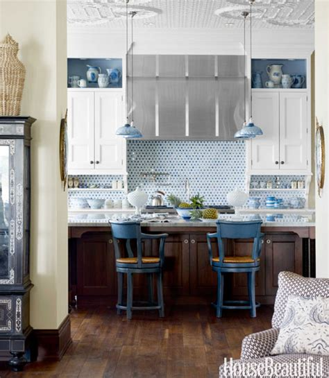 tiles and backsplash for kitchens for the of kitchens blue white kitchen the