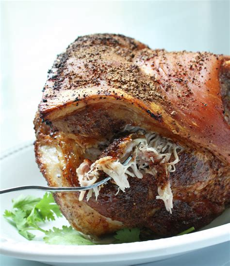 Pork butt, on the other hand, is cut from the thicker, fattier end of the shoulder, and excels in recipes like pulled pork where the meat is meant to be shredded. Easy Roasted Pork Shoulder - Low Carb, Paleo, Whole 30 | I Breathe I'm Hungry