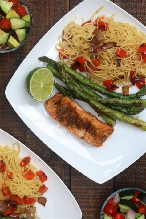 grouper tequila lime happyandblessedhome grilled recipe vegetables pan chopped salad asparagus recipes