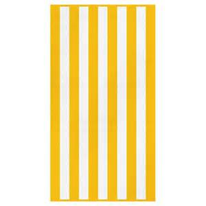 bridal shower registry ideas canningvale cabana stripe towel yellow