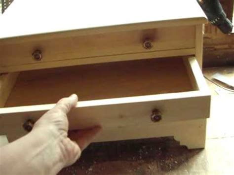 yankee workshop  drawer chest woodworking diy project youtube