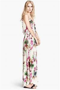 10 tenues pour avoir l39impression de voyager With robe fleurie h m