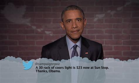 president obama reads  tweets highsnobiety