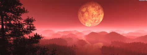 visual paradox   wallpaper crimson mist