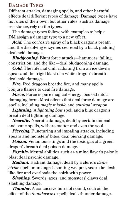 The short version is that you take a simple higher cr monster, like a giant, and describe it. Damage Estimate Dnd 5E : DnD 5e Force Damage Explained ...